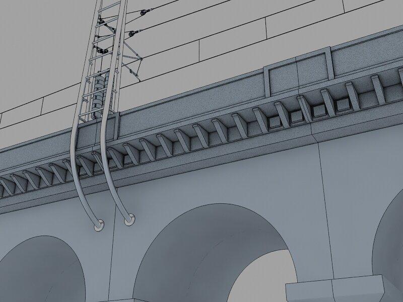Vizualizace opravy viaduktu