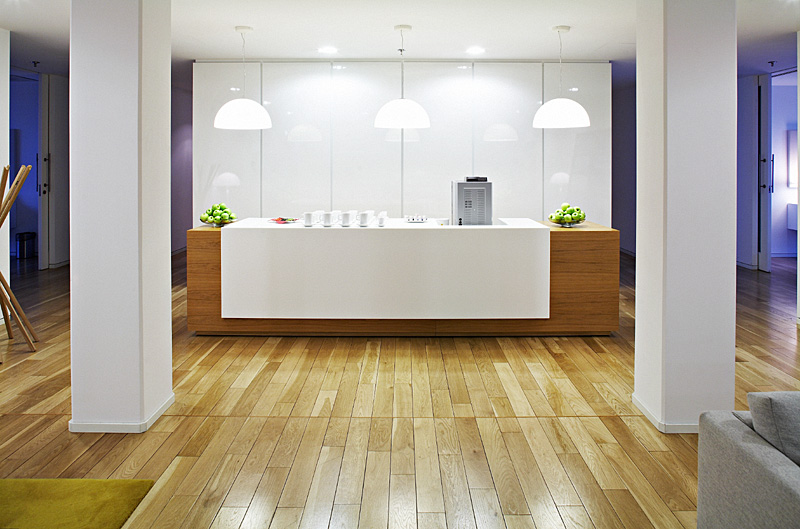 interiér kanceláří Deloitte