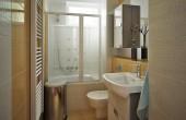 návrh malé koupelny Břevnov