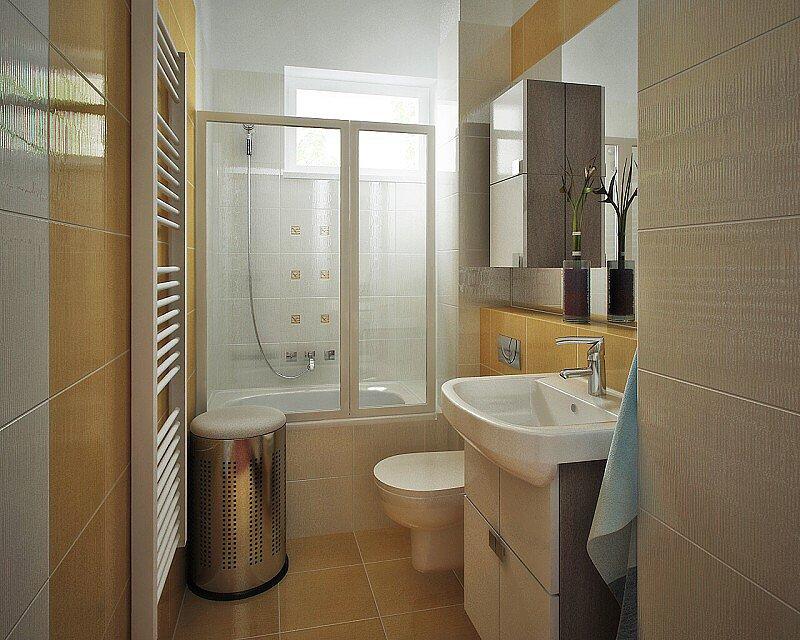 návrh koupelny Břevnov