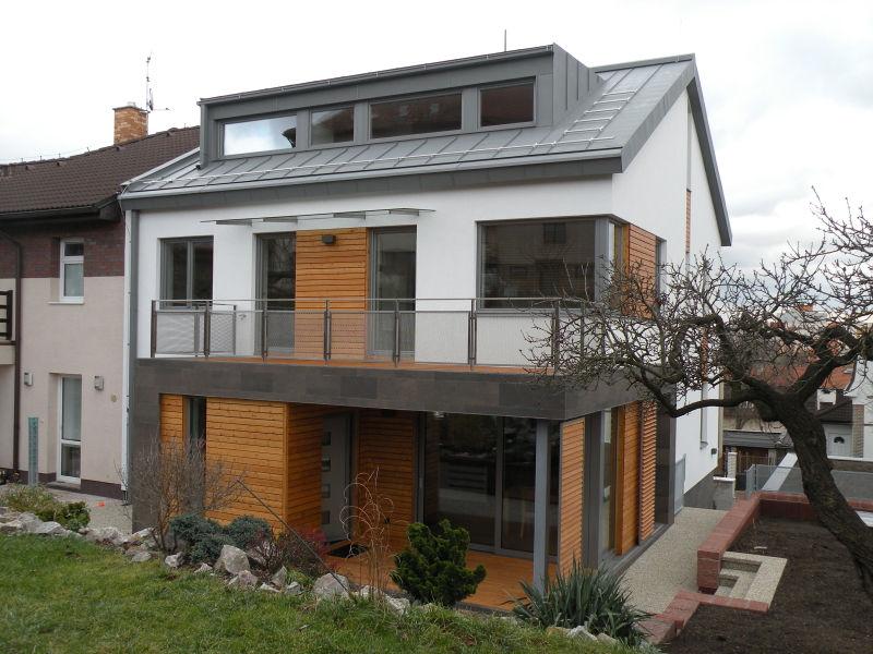 nízkoenergetický rodinný dům Malešice