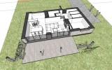 studie a projekt rodinného domu Šestajovice