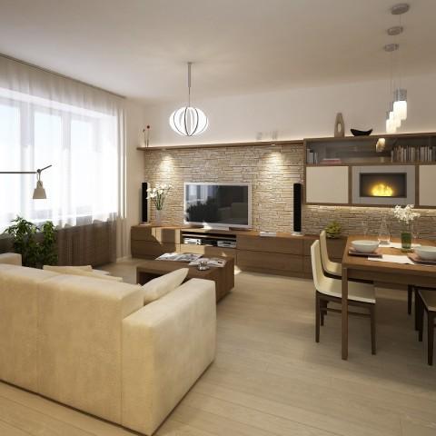 návrh interiéru Podolí