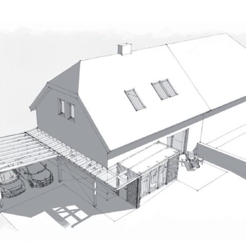 rekonstrukce RD Unhošť