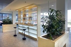 realizace návrhu kancelářských prostor