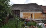 návrh přestavby stodoly na rodinný dům - stávající stav