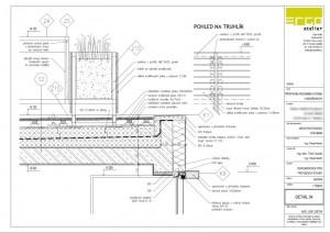 ukázka ze stavební části projektu - detail
