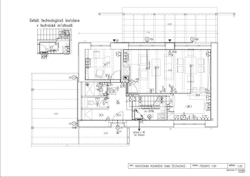 Dokumentace pro stavební povolení vzor