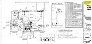 ukázka z projektu vzduchotechniky - prováděcí projekt