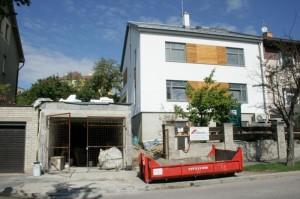 autorský dozor - fotorgafie ze stavby
