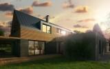 fotorealistická vizualizace vesnického domu