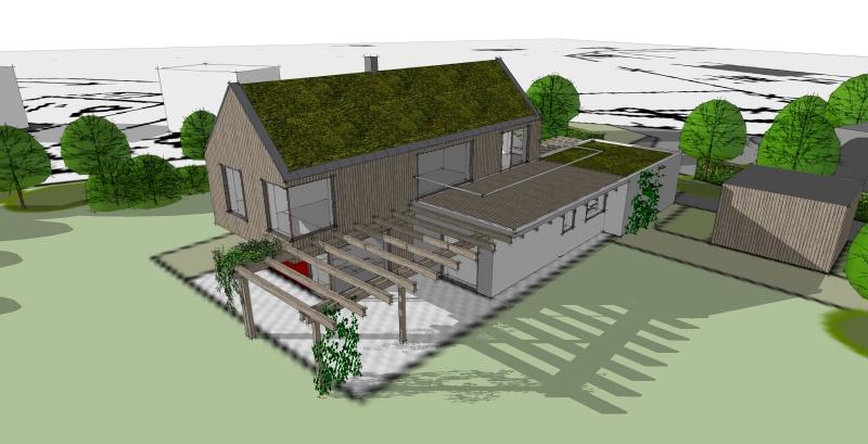 Příklady návrhů domů