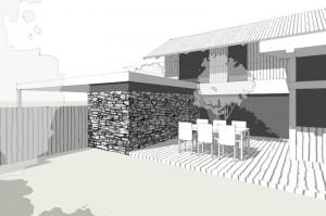 perspektiva novostavby vilového domu
