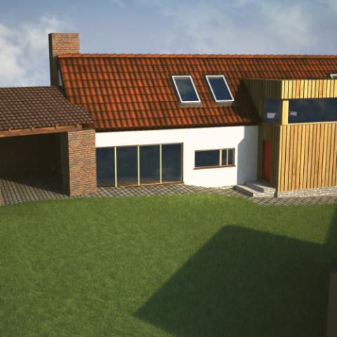 Rekonstrukce venkovského stavení